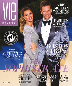 VIE Magazine's Cover -Dec, 2017 Issue